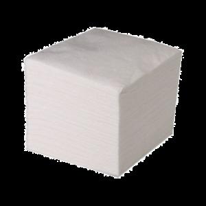 Салфетка бумажная  белая